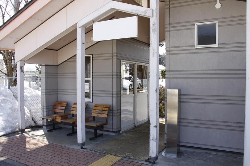 信濃木崎駅   大糸線   JR東日本
