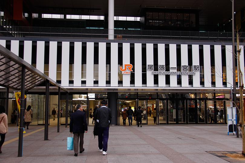 駅出入口 東口出入口(i-ビル側) コンコース JR改札口  尾張一宮駅